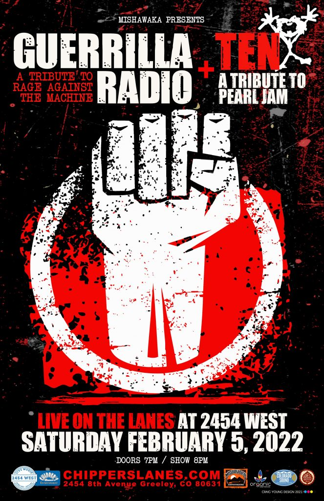 Guerrilla Radio and TEN at 2454 West